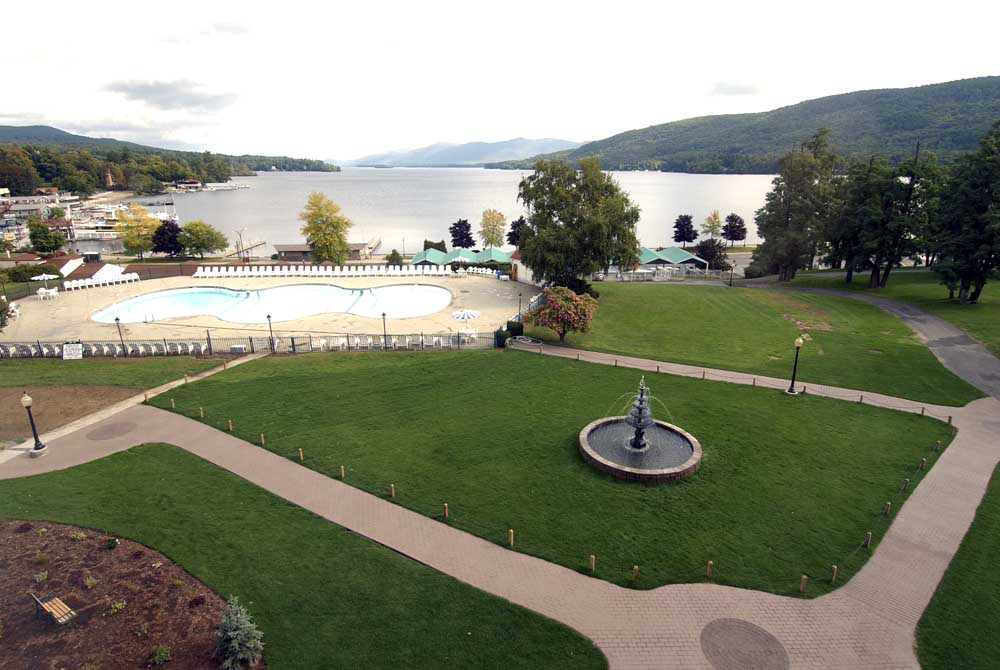 Fort William Henry Hotel Grounds