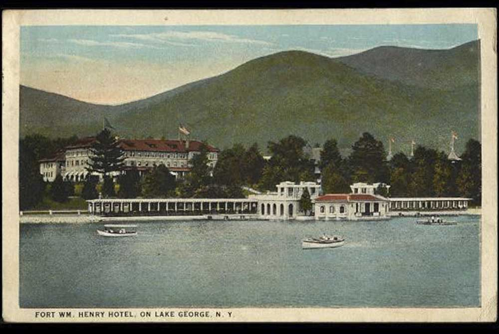 Fort William Henry Hotel Post Card
