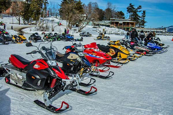 Lake George Snowmobiling
