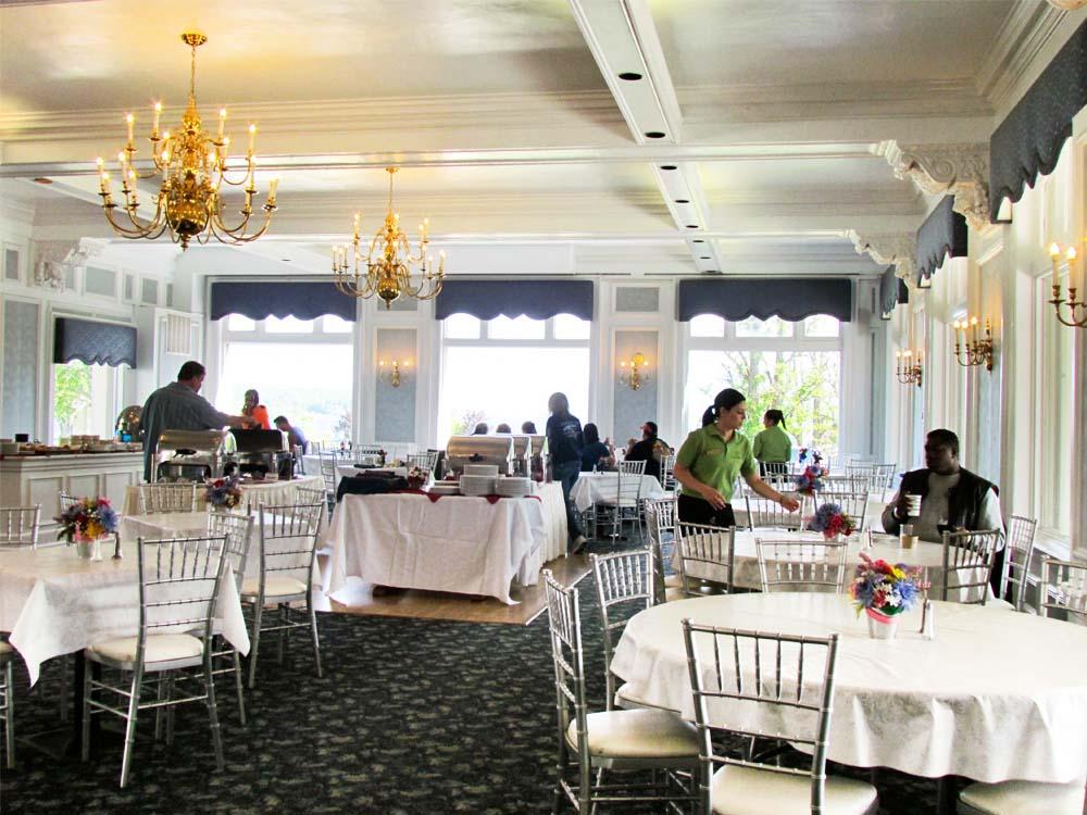 White Lion Breakfast Buffet Room